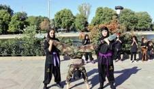 اجرای نمایش بانوان «نینجاکار» تبریزی/تصاویر