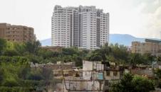 تصاویر/ همسایگی کاخ و کوخ