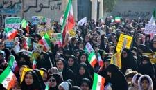 گزارش تصویری راهپیمایی ۲۲ بهمن ماه در جم