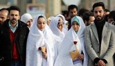 تصاویر/ تشرف 800 زوج دانشجو به حرم مطهر رضوی