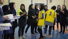 مسابقات داژبال بانوان در شهرستان جم برگزار شد+ تصاویر